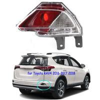 Rear RH Right Passenger Bumper Reflector Light for Toyota RAV4 2016 2017 2018