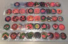 Original Glo Caps 1995 Series 1 101 Of 120 Red Glow Near Set VERY RARE