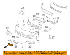Chevrolet GM OEM 01-04 Corvette-Grille-Lower Right 10424820