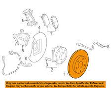 GM OEM Rear Brake-Rotor 23118534