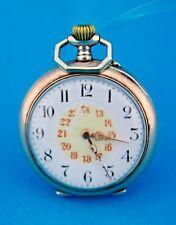"""Antike Taschenuhr """" AGA """" 800 Silber pocket watch 31 mm"""