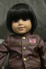Doll Wig Short Bob With Straight Bangs Natural Black Size 10-13 in 26-30 cm NEW