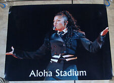 Extremely Rare Janet Jackson Professional Photo for Aloha Stadium