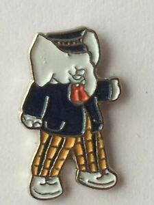 RUPERT BEAR Collectable Badge * RUPERT's friend Edward Trunk * vgc