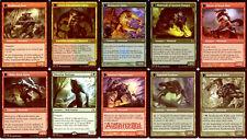 MTG Gruul Werewolf EDH Deck - Green Red - Commander - Magic the Gathering