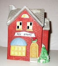 1990 Americana Collectibles Porcelain Illuminated TOY STORE for Christmas 2018