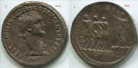 "TC003 Domitian Sestertius, WRL modern token, 34.5mm 1.35"""