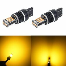 JDM ASTAR 7443 7440 Yellow 3035SMD High PowerLED Turn Signal Blinker Light Bulb