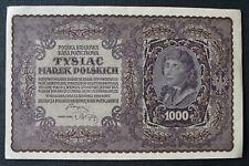 Pologne - Poland - Billet de 1000 Marek 1919 VF+/XF