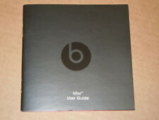 Manual User Guide for Beats by Dr. Dre MIXR Headphones - 6 pages
