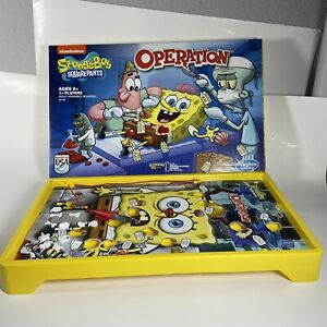 Spongebob Squarepants Operation Nickelodeon Hasbro Gaming 2014