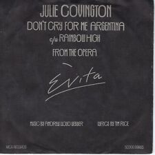 7inch JULIE COVINGTON don't cry for me argentina HOLLAND EX 1976 (S1556)