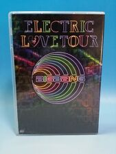 DVD BIGBANG ELECTRIC LOVE TOUR 2010 JAPAN