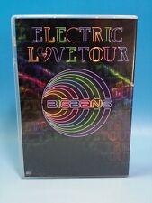 DVD BIGBANG ELECTRIC LOVE TOUR 2010 JAPAN
