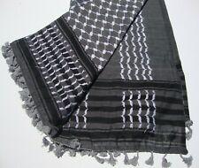 100% Cotton Shemagh Keffiyeh Arab Army New Hatta Real Arafat Head Scarf