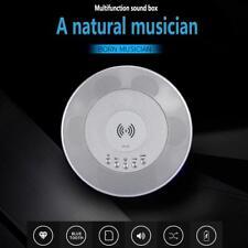 Bluetooth Speaker QI Wireless Charger Charging NFC FM Radio Watch Alarm Clock