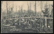 646788) AK 1. WK Waldfriedhof im Argonnenwald