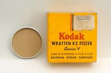 @ Ship in 24 Hours! @ Rare! @ Kodak Series V Wratten K2 Filter No.8 IEF