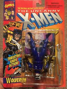 Error-1993 Marvel Uncanny X-MEN 5th Edition Wolverine Action Figure - Toy Biz