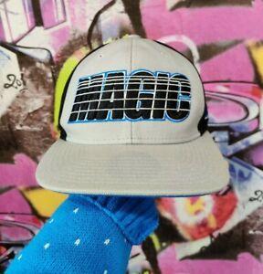 Orlando Magic Mitchell & Ness Hardwood Classics NBA Basketball Snapback Hat Cap