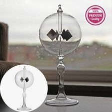 Solar Power Clear Glass Light Crookes Radiometer Model Educational Equipment HOT