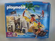 Playmobil 4139 Pirates Island Treasure 29 pieces 2008 NEW SEALED BOX
