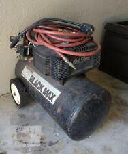 Vintage Sanborn Black Max Air Compressor Working
