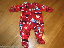 The Children's Place Baby Girls Footie PJ sleepwear 0-3 months pajamas   NWT*^