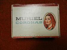 Muriel Coronas Extra Long 10 cent Cigar Box