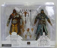"EZIO FLORENTINE SCARLET & CASPIAN TEAL Assassin's Creed 7"" inch Figures TRU 2012"