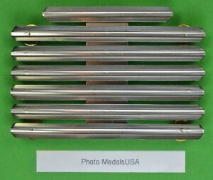 20 RIBBON HOLDER MOUNTING BAR RBH20 - U.S. Military Rack made in the USA