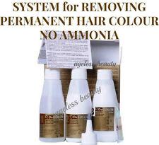 HAIR COLOUR DYE TINT REMOVER STRIPPER Permanent Colourant NO AMMONIA ERASER