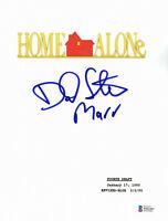 DANIEL STERN SIGNED AUTO HOME ALONE FULL SCRIPT MARV BECKETT BAS COA 8