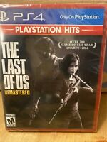 The Last of Us Remastered (Sony Playstation 4 PS4) Brand New PlayStation Hits