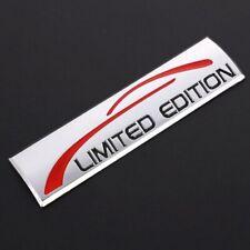 Limited Edition 3D Emblem Schriftzug Logo Metall Badge Sticker Aufkleber chrom