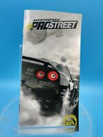 jeu video notice BE sony playstation portable PSP need for speed pro street