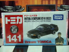 TOMICA #141 INITIAL D SKYLINE GT-R (R32) NEW IN BOX DREAM TOMICA SERIES