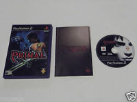PRIMAL for PLAYSTATION 2 'VERY RARE & HARD TO FIND'