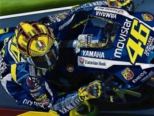 Valentino Rossi 90x70 cms limited edition MotoGP  art print by Colin Carter