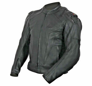 EX-DISPLAY WEISE DIABLO LEATHER SPORTS JACKET WITH SPEED HUMP SIZE 42 RRP £270