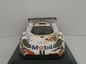 1/43 PORSCHE GT1 1998 MCNISH AIELLO 24H DU LE MANS IXO ESCALA SCALE CAR DIECAST