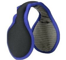 180s Men's Performer  Black/Blue Ear Warmers Adjustable & Collapsible Muff NEW!