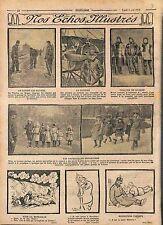 Bataille des Flandres/Fétiche Morane-Saulnier Théâtre de Guerre Poilus WWI 1915