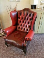 Chesterfield High Back Chairs