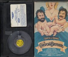 CHEECH & CHONG'S The CORSICAN BROTHERS (1984) OOP Betamax Lightning Video
