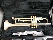 Trompete Fasch in Bb silber matt