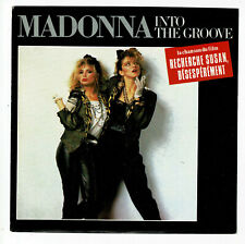 "MADONNA Vinyle 45T 7"" INTO THE GROOVE Film ""Recherche Susan SIRE 928934 NM RARE"