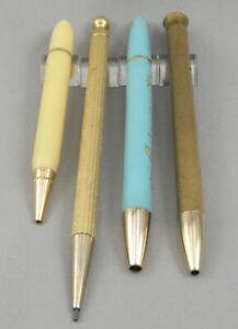 4 Vintage Mascara Pencils - 1940's-1950's - Avon, Fuller, Revlon, Max Factor?