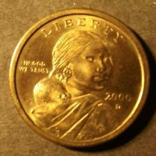 UNITED STATES OF AMERICA 1 DOLLAR COIN DATED  2000 NICE COIN