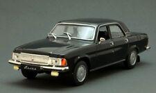 1:43 Scale GAZ 3102 VOLGA Black Soviet & Russian Sedan Diecast Model Car (1982)